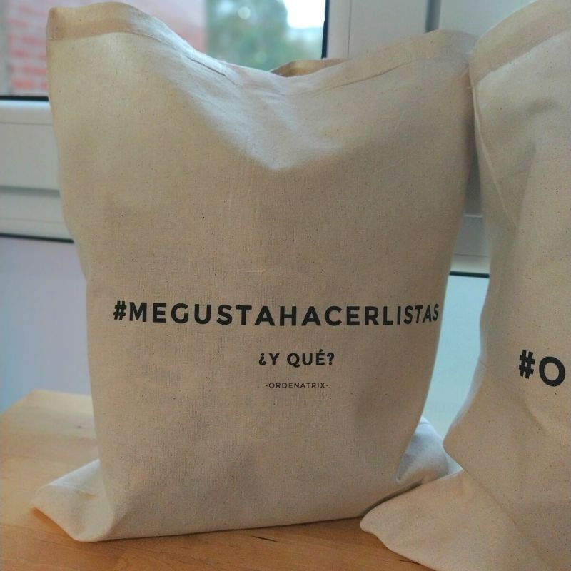 BOLSA #megustahacerlistas
