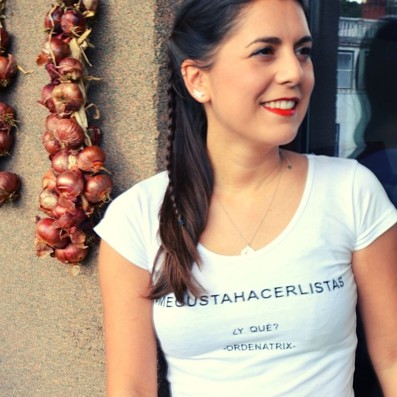 Camiseta mujer megustahacerlistas