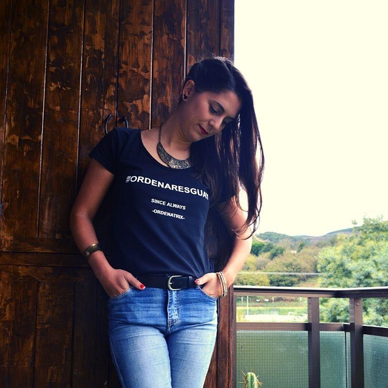 Camiseta mujer ordenaresguay