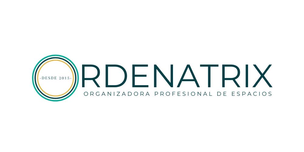 Logotipo Ordenatrix -organizadora profesional
