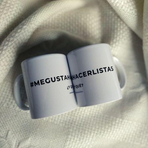 Taza #megustahacerlistas